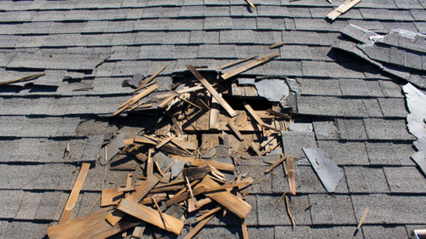 We make the roof repair process a breeze